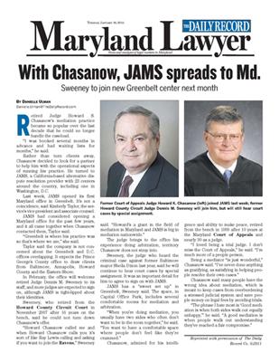 JAMS Greenbelt MD