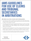 Use of Clerks and Tribunal Secretaries PDF