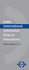 JAMS International Arbitration Rules