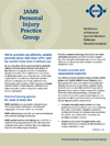 View or download the JAMS Personal Injury brochure in PDF