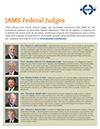 View or download the list of JAMS Federal Judges in PDF