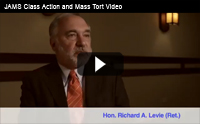 JAMS Class Action and Mass Tort Practice Video